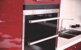 ヨーロッパデザインステンレス鋼の台所家具