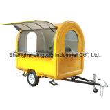 Mobile moderne Shawarma Shawarma de plein air l'alimentation chariot machine utilisée pour la vente de nourriture des camions en Allemagne