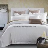 El algodón Mercerized satén Hotel Sábana conjunto de ropa de cama textil