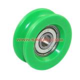 En nylon coloré en plastique pratique la poulie de guidage roue / roulement de rouleau de POM / de la poulie