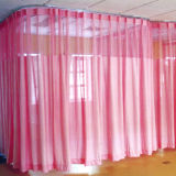 Azul cortinas desechables médicos de hospital