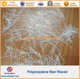 Fibra macra plástica de la onda del polipropileno