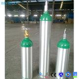 Médico de alumínio de alta pressão portátil de cilindros de oxigênio de cilindros de gás