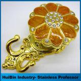 亜鉛合金の飾り布のカーテンTiebackはローズパターンカーテンのHoldbacksを引っ掛ける