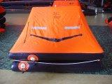 Del SOLAS de la aprobación del tiro balsa salvavidas inflable barato marina al agua/balsa salvavidas