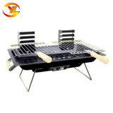Portable Hibachi japonais de plein air Barbecue au charbon de bois rectangulaire