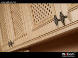 Armadio da cucina tradizionale americano di legno solido di Welbom