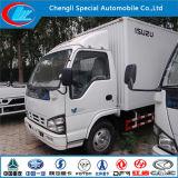 Isuzu 최신 판매 음식에 의하여 냉장된 트럭, 5 톤 해산물 냉장고 트럭, 중국은 물고기 냉각 트럭을 만들었다