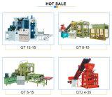 Hohle Block-Maschine des Kleber-Qt4-15 für Ziegelstein-und Block-Pflanze