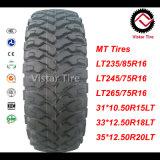 M/T fuori dal pneumatico dell'automobile della strada, pneumatico del veicolo leggero di SUV, pneumatico dell'automobile del fango,