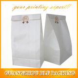 Мешок для упаковки продуктов питания Kraft белого цвета