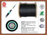 Cable de fibra óptica exterior de 96 alambres para la comunicación