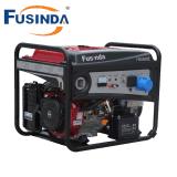 Gerador portátil de Fusinda com tomadas de GFCI - 5500 watts Running e 6750 watts começando - gerador psto do gás
