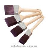 Brosse de châssis angulaire avec poignée en bois B018