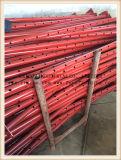 حمراء [بيتينغ] بناء يستعمل سقالة دعائم ودعامة قابل للتعديل متداخل