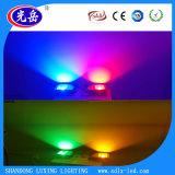 Luz de inundação do diodo emissor de luz do poder superior 100W com lúmens elevados