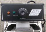 friteuse profonde électrique commerciale de l'acier inoxydable 6L