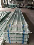 La toiture ondulée de couleur de fibre de verre de panneau de FRP/en verre de fibre lambrisse W172056