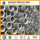 Tubo de acero soldado o tubo de acero galvanizado