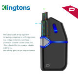 Kingtons Wegwerfhülse mit nachladbarer elektronischer Zigarette Kasten-MOD-Vape