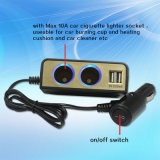 Dual USB 5V 3.1A를 가진 Best Quality Car Cigarette Lighter Power Socket