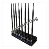 Remote Control Jammer for 2g+3G+2.4G+Lojack+Gpsl1+VHF+UHF