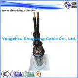 A examiné de bande de PVC Insulated/Cu/câble de commande engainé par Multi-Core/PVC