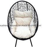 GlwfswチャールズBentleyの藤の黒いハングの振動椅子