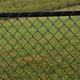Frontière de sécurité galvanisée de maille de maillon de chaîne