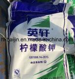 음식 급료 monohydrate 칼륨 구연산염