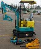 サイXn08 800kgsの承認される小型クローラー掘削機のセリウム