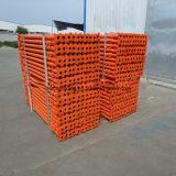 型枠システムのための2200-3900mm電流を通された足場の調節可能な鋼鉄支柱