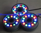 Yaye 18 IP68 RGB LED 18W luz subacuática / Fuente de luz LED 18W / LED lámpara de la fuente con controlador DMX512