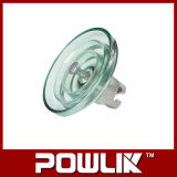 Isolador de suspensão de vidro de alta qualidade (LXP-210)