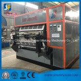 La bandeja de papel girada de la fruta de la máquina de la bandeja del huevo que hace la máquina calza la máquina de la bandeja