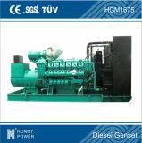 Precio de fabricante diesel del generador del motor 1200kw 1500kVA del cilindro de Googol 12