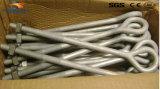 Bullone di Ovaleye/ancoraggio standard forgiati Rod dell'occhio galvanizzati acciaio