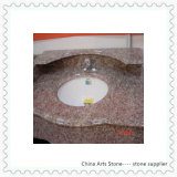 Granit rose chinois pour le dessus de vanité