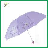 بوليستر مادّيّة ترويجيّة يعلن مظلة صامد للريح
