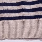 長い袖のプルオーバーパターンジャカードによって編まれる人のセーター