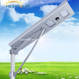 Iluminación al aire libre de diseño único integrado Iluminación de calle solar LED 5W-120W