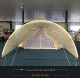Playdo 100% Katoenen die Canvas 5m de Tent van de Klok - in het Kamperen van het Blad van de Grond Tent wordt gesneld