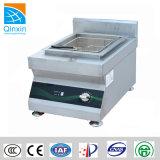 Patatina fritta di induzione del controsoffitto e friggitrice profonda del fornello dei pesci