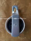 Polea de nylon plateada cinc de la polea acanalada para el sistema de la fuente de alimentación