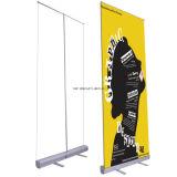 Tire hacia arriba Mostrar impermeable retráctil de Banner Roll up Stand, la pantalla de Banner Roll up