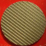 Muti層の円形のステンレス鋼焼結させたフィルターディスク、フィルター網のパック