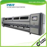 Imprimante grand format solvant 5m * 1440dpi 12 PCS Spt510 chef pour l'impression Publicité