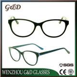 Het In het groot Frame van uitstekende kwaliteit Sr6024 van de Glazen van het Oogglas van Eyewear van de Acetaat Optische