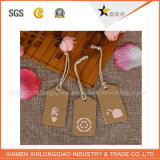 Ярлык ткани одежды бирки одежды стикера печатание изготовленный на заказ сплетенный тканью