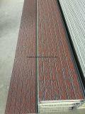 Los paneles a prueba de agua con aislamiento de metal decorativo para Caja Tipo Subestación